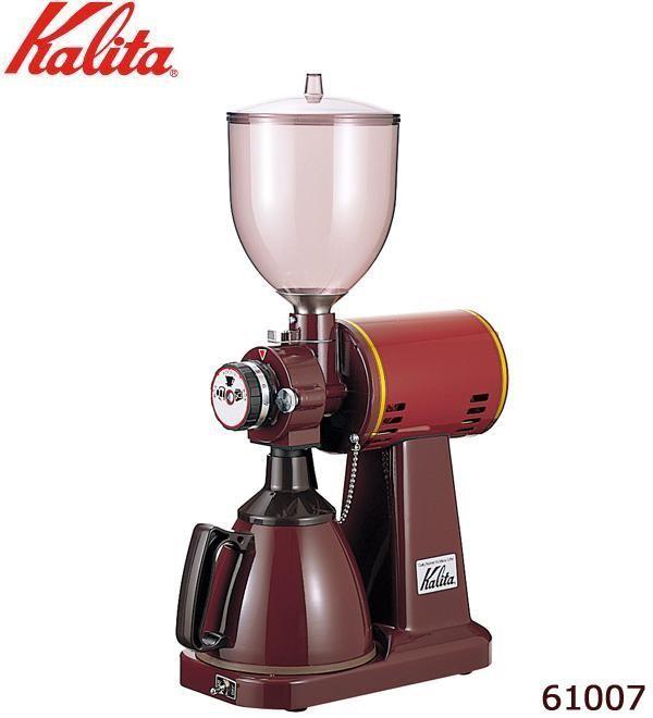送料無料 Kalita カリタ SEAL限定商品 業務用電動コーヒーミル ハイカットミル タテ型 ラッピング不可 同梱不可 61007 信託 代引不可