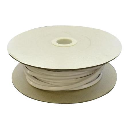 光 (HIKARI) エンビUパッキンドラム巻 白 3.4×6.7mm 1mm用 KVW1-100W  100m [ラッピング不可][代引不可][同梱不可]