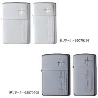 ZIPPO(ジッポー) ライター ラバーズ・クロス ペアSIDE 銀サテーナ・63070198