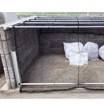 ダイケン ゴミ収集庫 クリーンストッカー ネットタイプ CKA-2012 [ラッピング不可][代引不可][同梱不可]