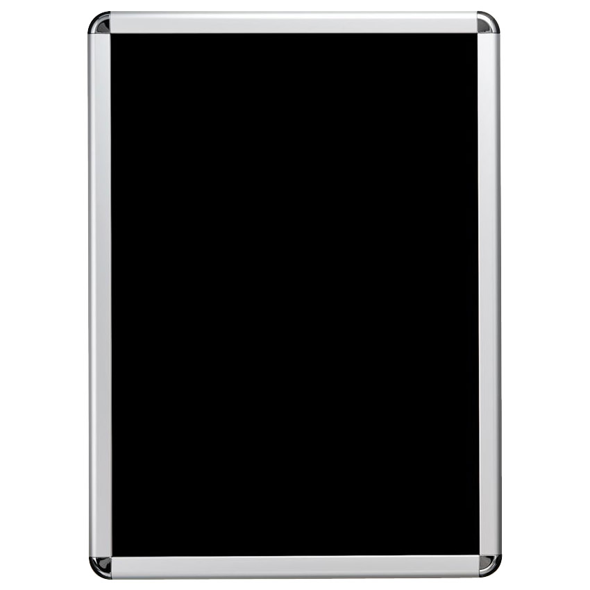 PosterGrip(R) ポスターグリップ角R型 B2 シルバーフレーム(梨地調) 屋内用 PG-32R C・SM [ラッピング不可][代引不可][同梱不可]