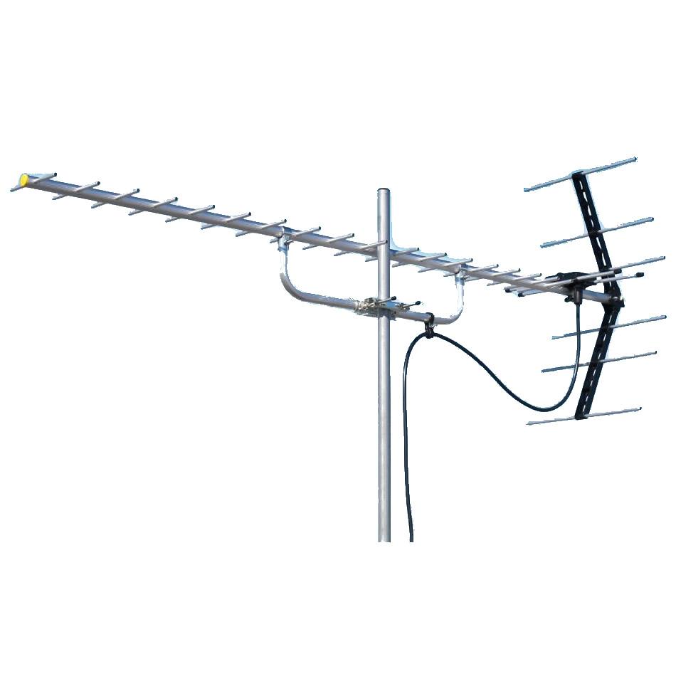 マスプロ電工 地上デジタル放送受信用 家庭用 UHFアンテナ 20素子 U206 [ラッピング不可][代引不可][同梱不可]