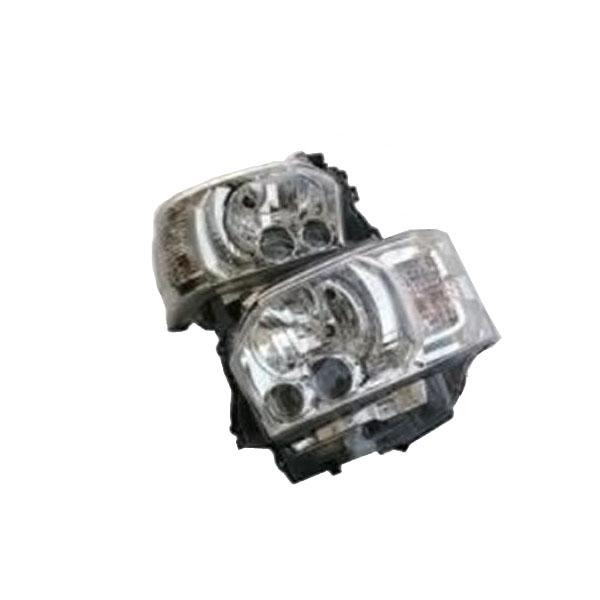 SoulMates 200系ハイエース(1・2・3型用) カスタム用LEDヘッドライト 4型ルック シルバータイプ GTH-008 [ラッピング不可][代引不可][同梱不可]