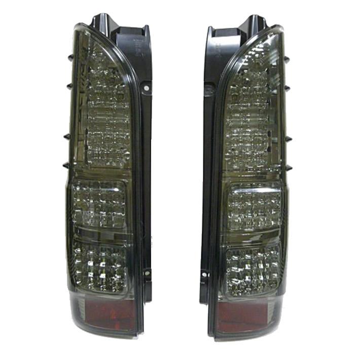 SoulMates 200系ハイエース カスタム用フルLEDテールランプ 4型風 スモーク GTT-004 [ラッピング不可][代引不可][同梱不可]