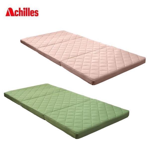 Achillesアキレス 吸水速乾キルトバランスマットレス シングル 6cm厚 ベージュ [ラッピング不可][代引不可][同梱不可]