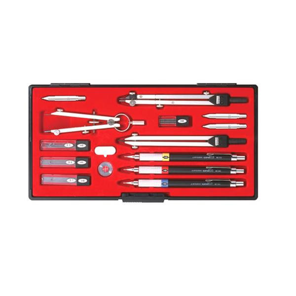 KD型製図器 SEセット SE17品組 鉛筆製図セット 010-0006