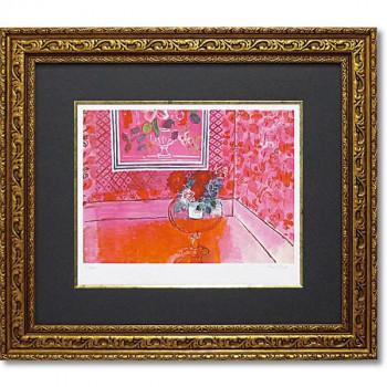 ユーパワー ミュージアムシリーズ(ジクレー版画) アートフレーム デュフィ 「バラ色の人生」 MW-18061
