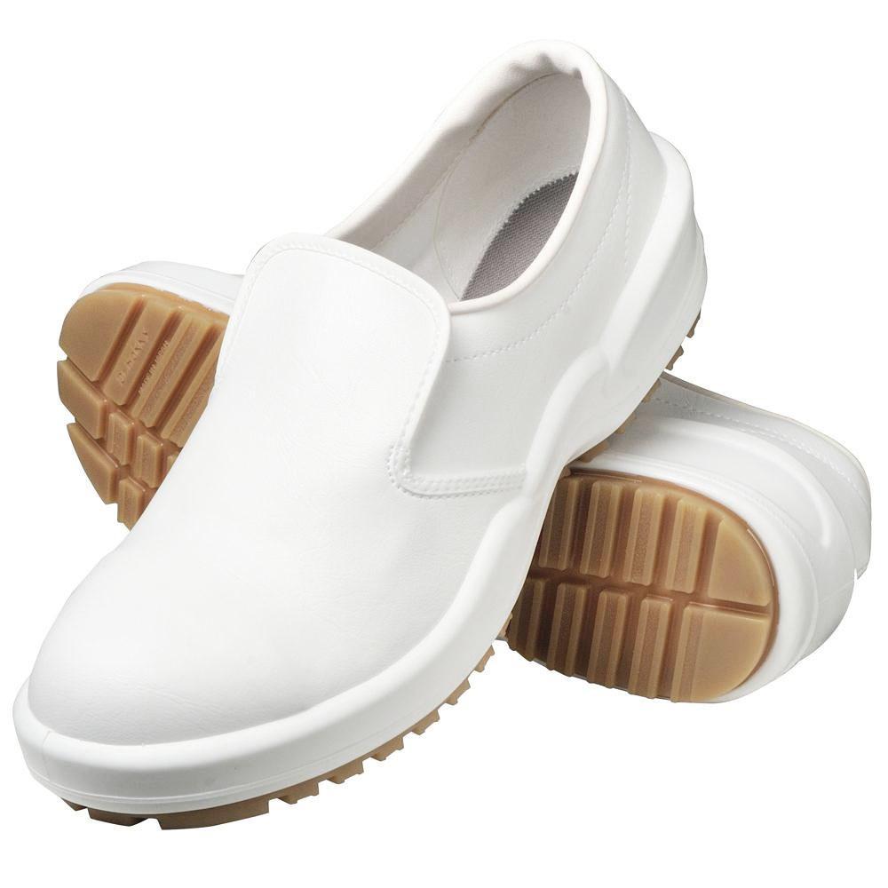 弘進ゴム 布靴 厨房靴シェフメイト グラスパーガード CG 502S 白 25 5cm E0633CHuPkOXZiT