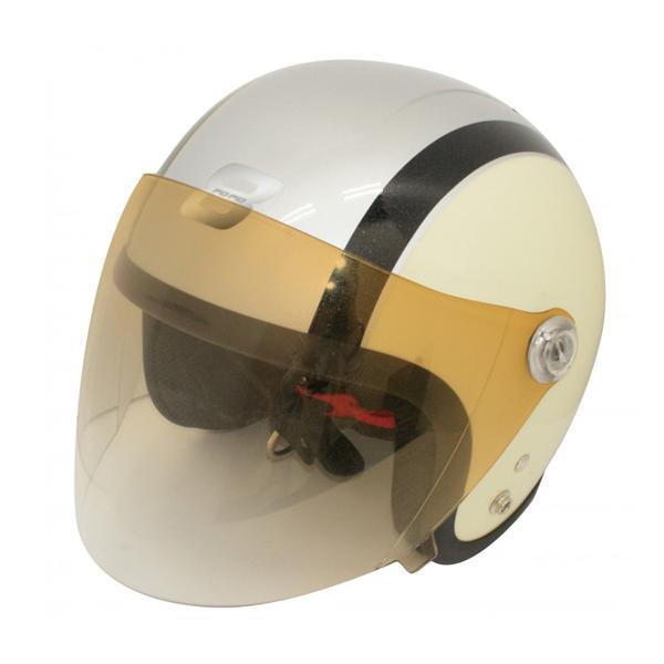 ダムトラックス(DAMMTRAX) ポポ8 ヘルメット IVORY/BLACK