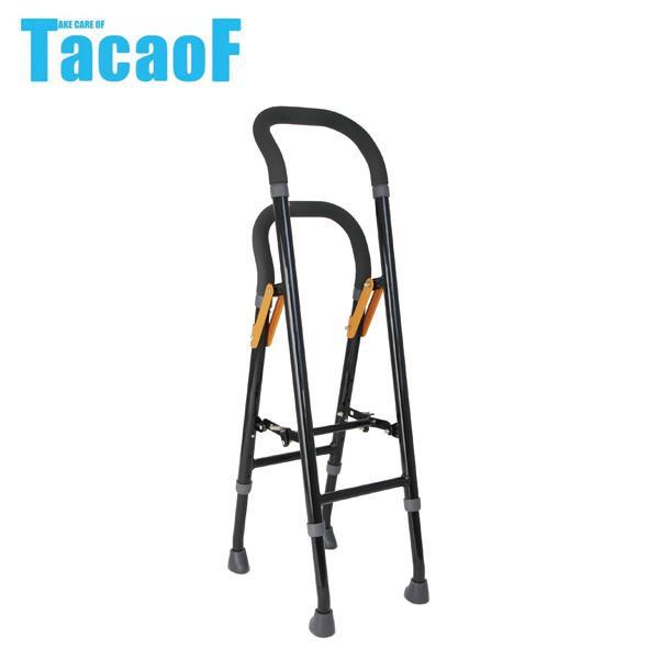 (非課税) 幸和製作所 テイコブ(TacaoF) 手すりな杖 ブラック CAM04 [ラッピング不可][代引不可][同梱不可]