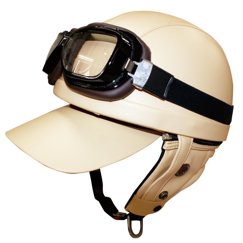ダムトラックス(DAMMTRAX) バイクヘルメット バンディット IVORY