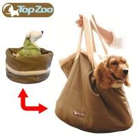 送料無料 フランス TopZoo トップズー ペットキャリー ベッド ラッピング不可 発売モデル 代引不可 ~6kg対応 同梱不可 ドゥドゥバッグ 売れ筋