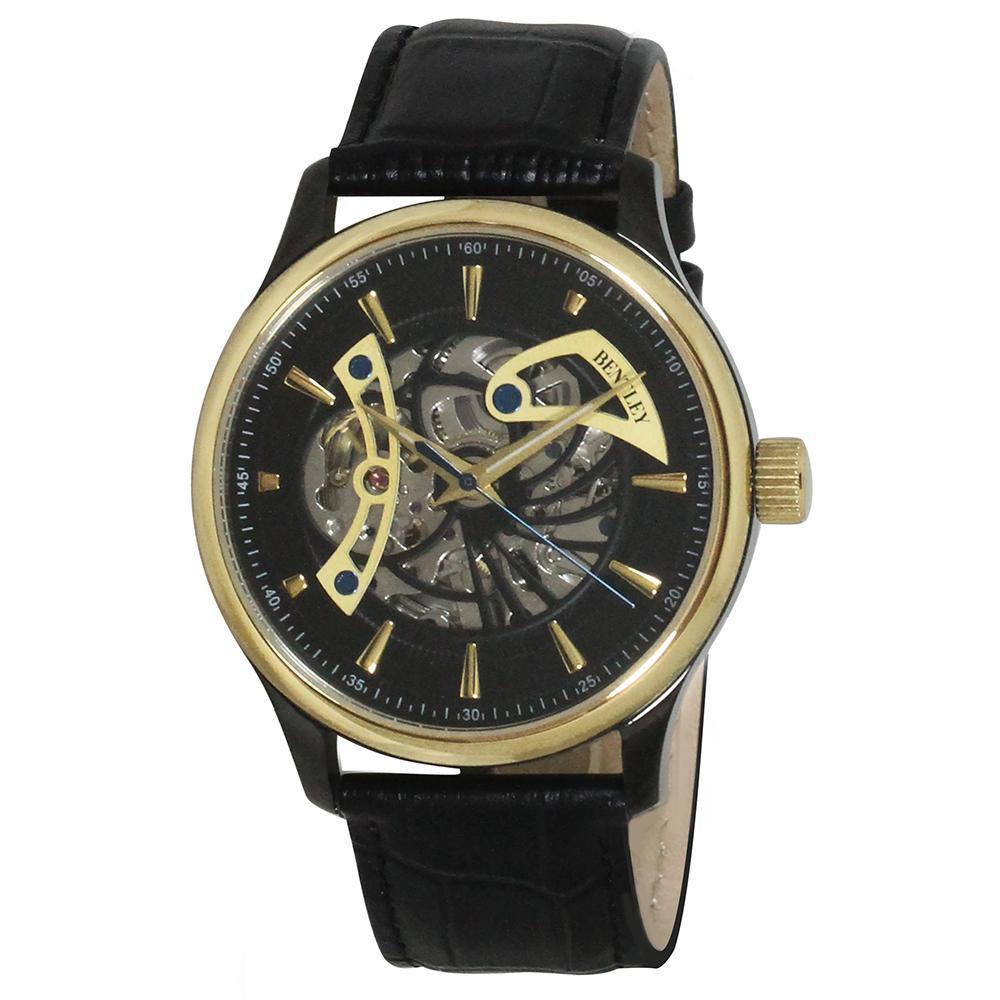 BENTLEY 機械式腕時計 BT-AM075-BKG