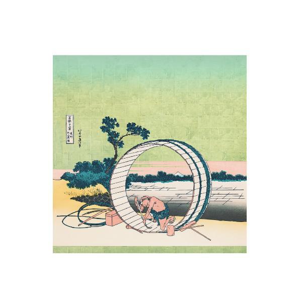 宮井 ふろしき ポリエステル88cm幅 尾州不二見原 12-2593-52