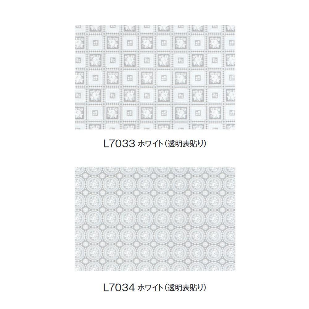 富双合成 テーブルクロス FGラミネートレース(広幅) 約120cm幅×20m巻 (透明表貼り) L7033・ホワイト [ラッピング不可][代引不可][同梱不可]