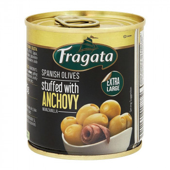 送料無料 Fragata フラガタ セレクション 高級 アンチョビオリーブ 代引不可 商店 85g×12個セット 同梱不可 ラッピング不可