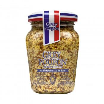 【送料無料】 Grey Poupon(グレープポン) オールドスタイル(種入り) 210g×12個セット [ラッピング不可][代引不可][同梱不可]