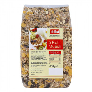 delba(デルバ) ファイブフルーツミューズリー 1kg×10個セット [ラッピング不可][代引不可][同梱不可]