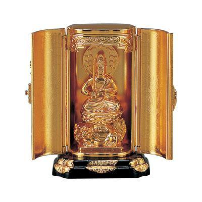 高岡銅器 亜鉛合金製仏像 渡辺景秋作 文珠菩薩 71-11