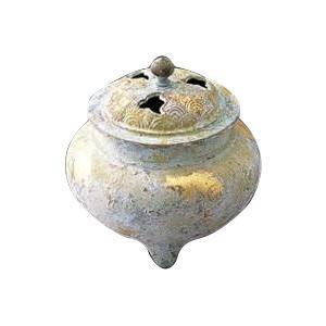 高岡銅器 銅製香炉 波千鳥香炉 134-01