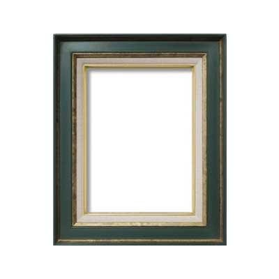 油額 花シリーズ 花ボルドー グリーン F4号 333×242mm ガラス [ラッピング不可][代引不可][同梱不可]