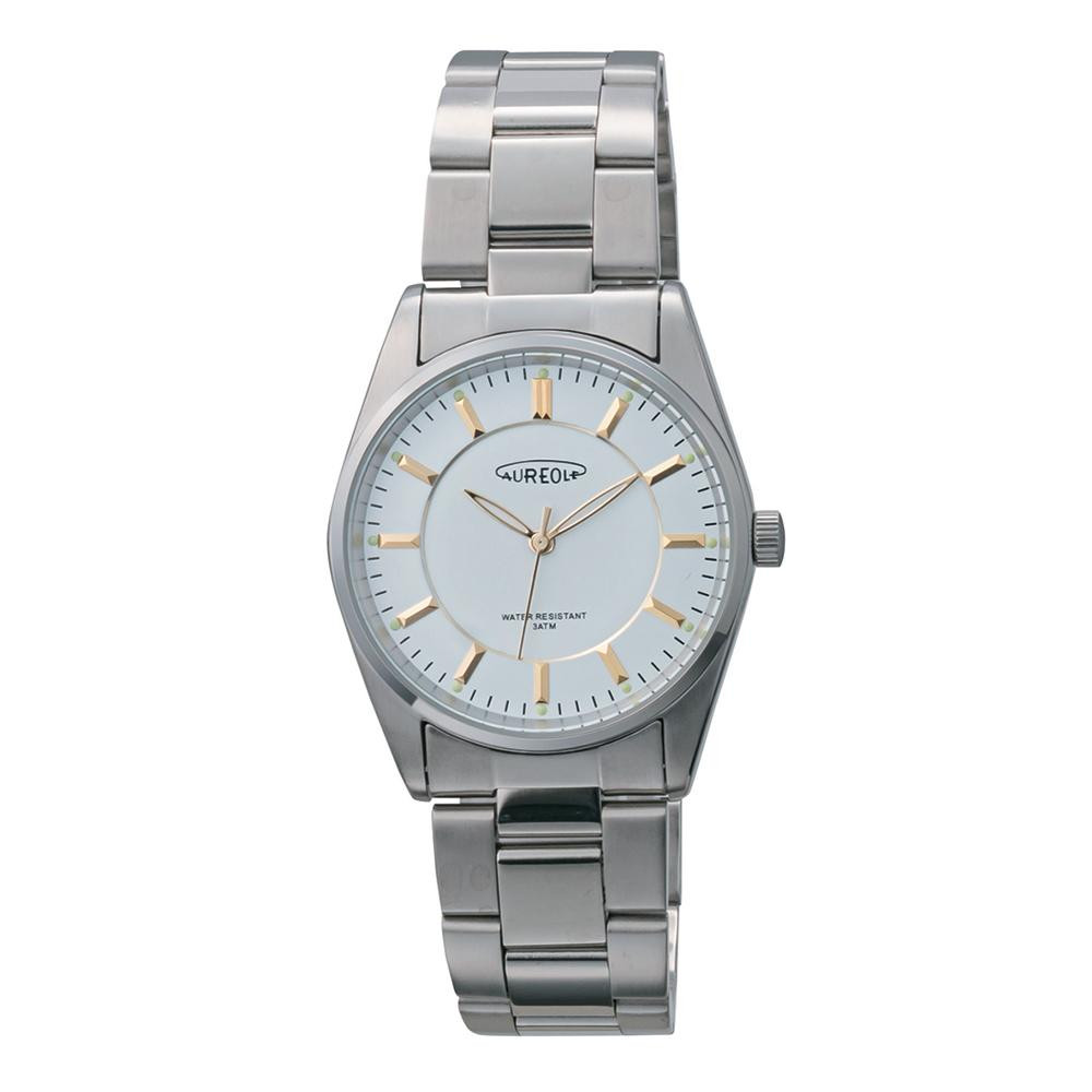 AUREOLE(オレオール) 日本製 メンズ 腕時計 SW-594M-C