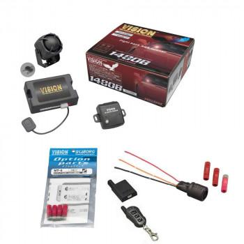 盗難発生警報装置 ハイグレード・スマートセキュリティ トヨタ共通データ書込み済 SPパック 1480B+UPS-33+NT-4+TR365S