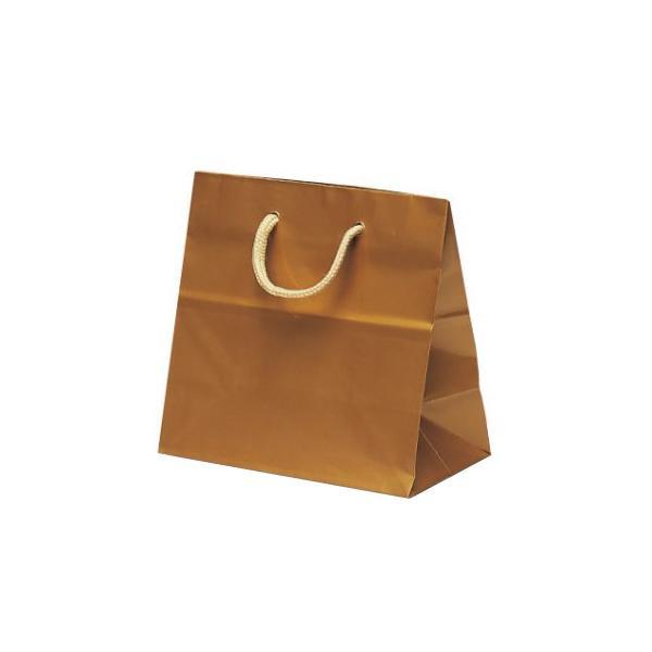 リトルバッグ 手提袋 165×90×160mm 100枚 ゴールド 1501 [ラッピング不可][代引不可][同梱不可]
