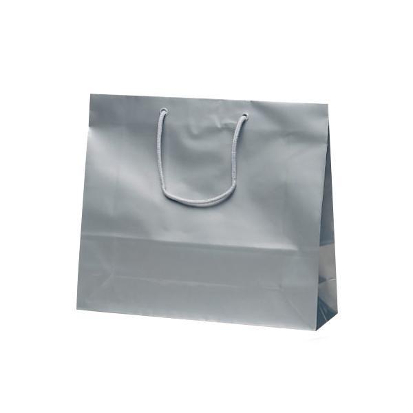 ファインバッグ 手提袋 330×100×290mm 50枚 シルバー 1172 [ラッピング不可][代引不可][同梱不可]