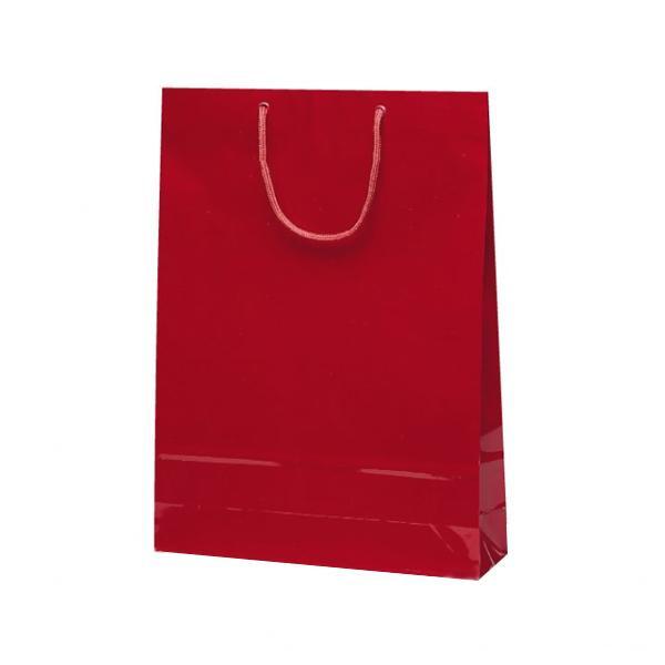 エクセルバッグ 手提袋 330×100×450mm 50枚 ワイン 1103 [ラッピング不可][代引不可][同梱不可]