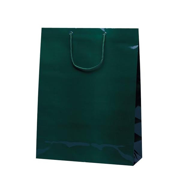 グランドバッグ 手提袋 380×145×500mm 50枚 ダークグリーン 1146 [ラッピング不可][代引不可][同梱不可]