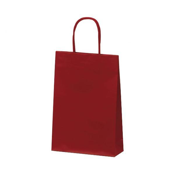 マットバッグ(S) 手提袋 225×80×320mm 50枚 ワイン 1060 [ラッピング不可][代引不可][同梱不可]