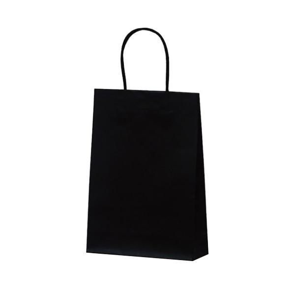 マットバッグ(S) 手提袋 225×80×320mm 50枚 ブラック 1068 [ラッピング不可][代引不可][同梱不可]