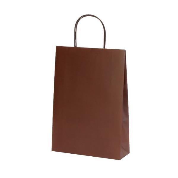 マットバッグ(S) 手提袋 225×80×320mm 50枚 ブラウン 1082 [ラッピング不可][代引不可][同梱不可]