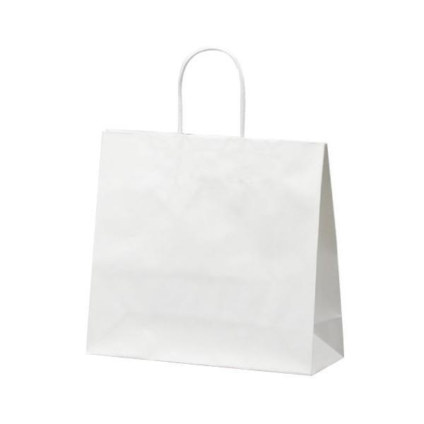 マットバッグ(M) 手提袋 320×110×290mm 50枚 ホワイト 1073 [ラッピング不可][代引不可][同梱不可]