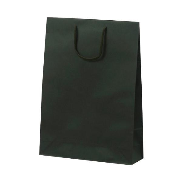 T-8 カラークラフト 紙袋 330×100×450mm 100枚 グリーン 1034 [ラッピング不可][代引不可][同梱不可]