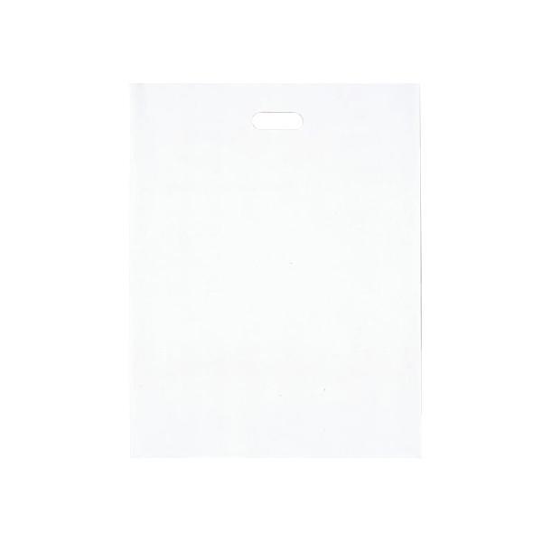 シティバッグ ポリ手提袋 L 465×600mm 250枚 ホワイト 4195 [ラッピング不可][代引不可][同梱不可]