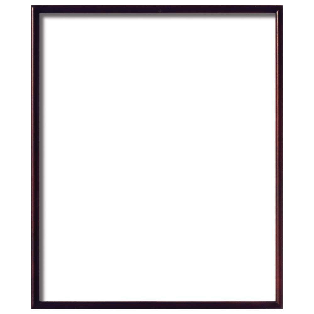 デッサン額 紫檀 小全紙 ガラス 660×509mm 4011 [ラッピング不可][代引不可][同梱不可]