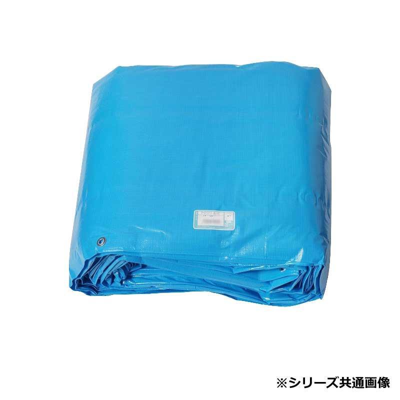 萩原工業 日本製 ♯3000 ターピーシート ブルー 7.2×7.2m 約32畳 [ラッピング不可][代引不可][同梱不可]