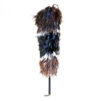 石塚羽毛 日本製 ニワトリ毛ばたき 1100mm K200 [ラッピング不可][代引不可][同梱不可]
