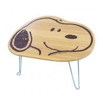 SNOOPY スヌーピー 木の雑貨 フェイス SNT3501 正規品送料無料 ミニテーブル 予約