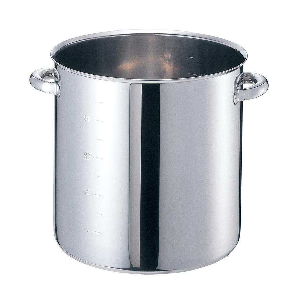 EBM モリブデンジII 寸胴鍋(目盛付)24cm 蓋無 8688200