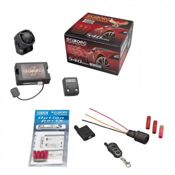 盗難発生警報装置 スマートセキュリティ・ハイグレード トヨタ共通データ書込済 パック リモコン×1 540HB+UPS-33+NT-4+TR365S