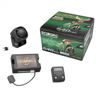 SCIBORG 盗難発生警報装置 ハイグレード・スマートセキュリティ リモコン×2セット 640HB-2S(640HB+TR365D)