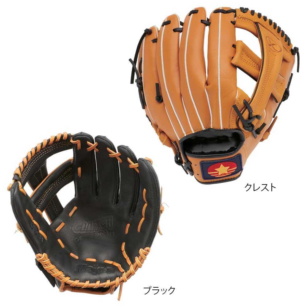 野球 軟式グラブ 12インチ BG80-38 右投げ用・ブラック
