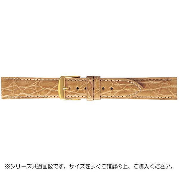 BAMBI バンビ 時計バンド エルセ ワニ革 ベージュ(美錠:金) SWA007FI