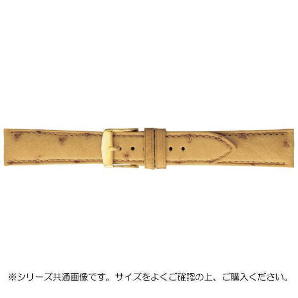 BAMBI バンビ 時計バンド エルセ オーストリッチ革 タン(美錠:金) SDA006TP