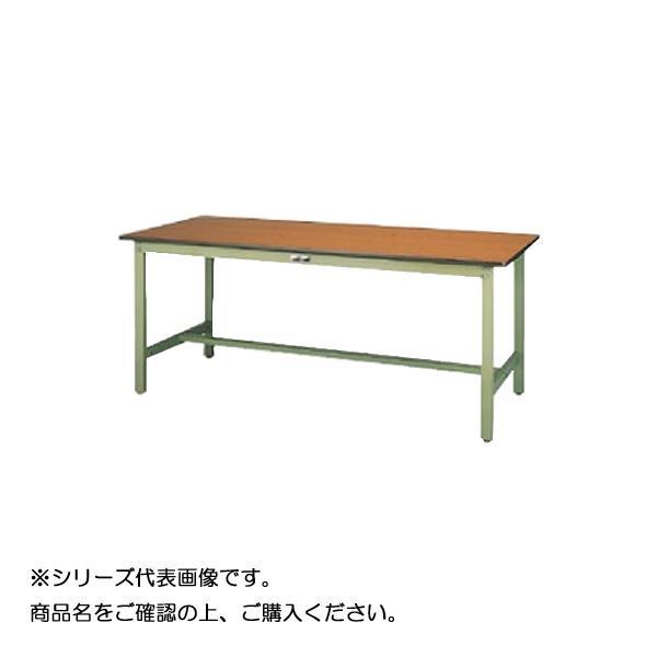 SWPH-775-MG+L3-G ワークテーブル 300シリーズ 固定(H900mm)(3段(浅型W500mm)キャビネット付き) [ラッピング不可][代引不可][同梱不可]