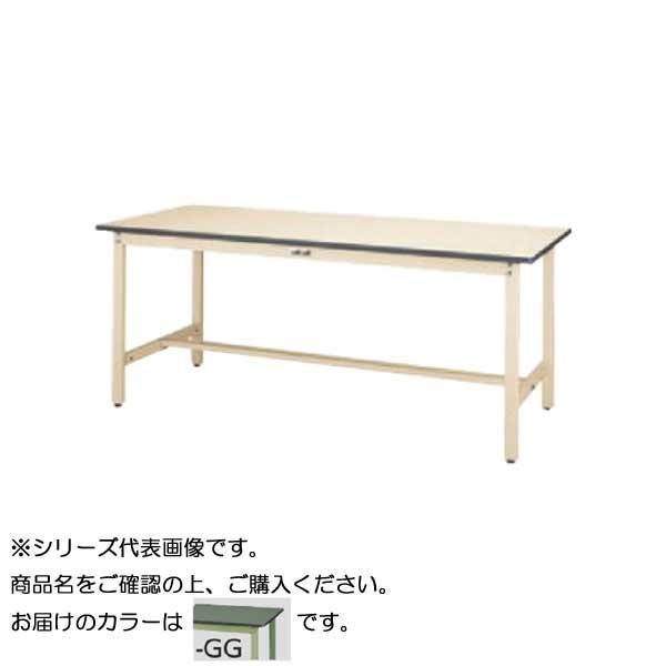 SWR-1890-GG+D2-G ワークテーブル 300シリーズ 固定(H740mm)(2段(深型W500mm)キャビネット付き) [ラッピング不可][代引不可][同梱不可]