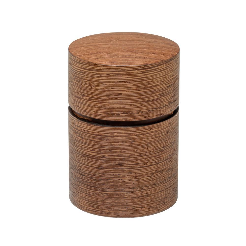 帯筒 茶筒(大) ウェンジ 39302 [ラッピング不可][代引不可][同梱不可]